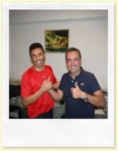Silvio Evanni e Marcelo Strama