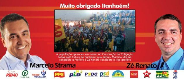 ConvençãoMarcelo Strama e Zé Renato